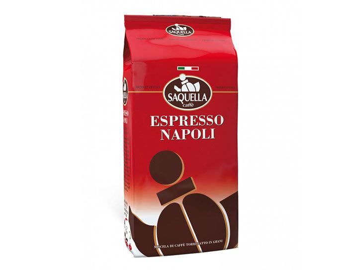 Кофе в зернах Saquella Espresso Napoli, 1 кг (Саквелла)