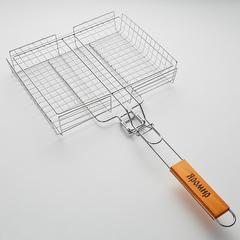 Решетка-барбекю универсальная со съемной ручкой