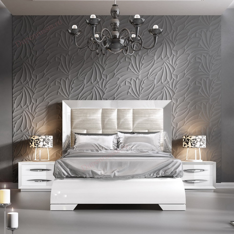 Кровать FRANCO CARMEN белый