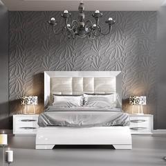 Кровать FRANCO CARMEN белая