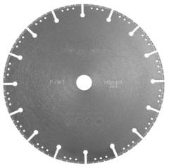Диск вакуумный по металлу MESSER FM/T, сухой, тонкий, 230D-1.6T-3W-22.2