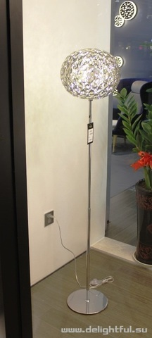 Kartell Planet ( clear ) floor lamp