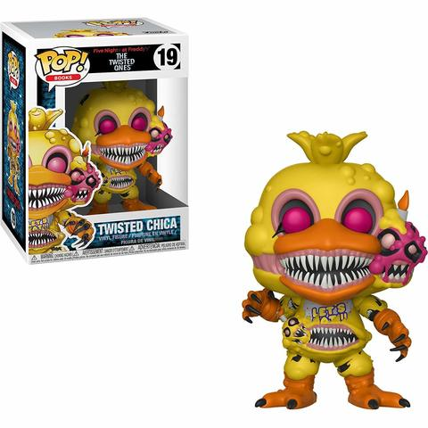 Funko Pop Books: Five Nights At Freddy's-Twisted Chica Collectible Figure, Multicolor