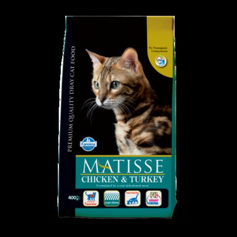 Farmina Matisse Adult Chicken & Turkey Сухой корм для кошек с Курицей и Индейкой