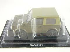 VAZ-2122 Reka River khaki 1:43 DeAgostini Auto Legends USSR #91