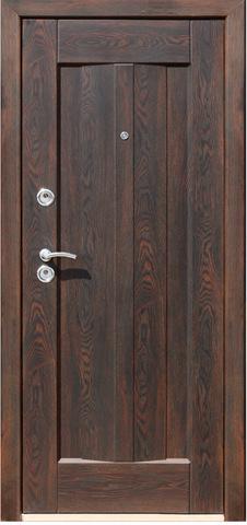 Дверь входная Теплые двери ТД 888, 2 замка, 1,2 мм  металл,