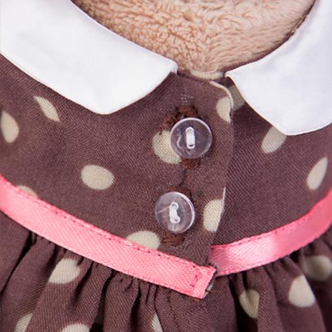Зайка Ми в кофейном платье