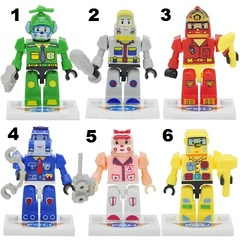 Minifigure Robocar Poli Blocks Building