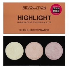Палетка хайлайтеров Makeup Revolution Highlighter Palette, Highlight