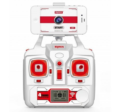Радиоуправляемый вертолет (квадрокоптер) Syma X8W c FPV камерой