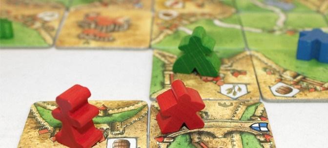 Настольная игра Каркассон : Предместья и Обитатели