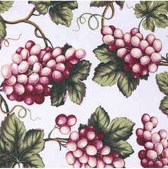 Скатерть 150x180 Vingi Ricami Armonia красный виноград