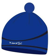 Лыжная шапка Nordski Line Blue