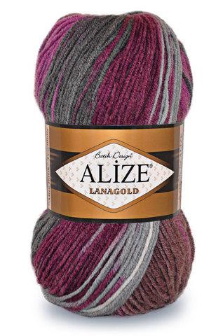 Купить Пряжа Alize Lanagold batik | Интернет-магазин пряжи «Пряха»
