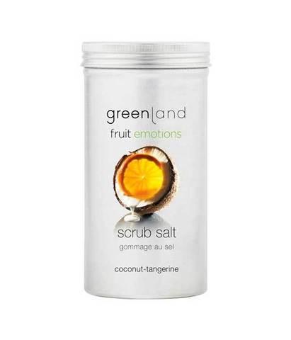 Скраб-соль для тела Кокос-мандарин, Greenland