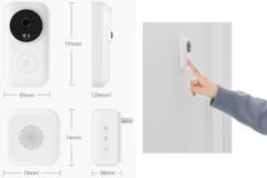 Умный дверной звонок Xiaomi Zero Smart Doorbel (белый)