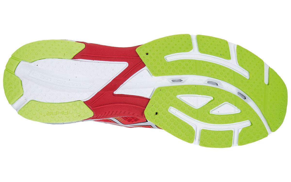 Мужские беговые кроссовки марафонки Asics Gel-DS Racer 10 (T407N 2191) красные фото