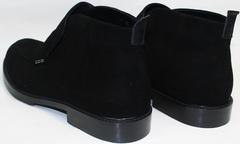 Замшевые ботинки мужские зимние Richesse R454