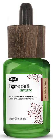 Эфирное масло от выпадения волос - Lisap Keraplant Nature Anti-Hair Loss Essential Oil 30 мл