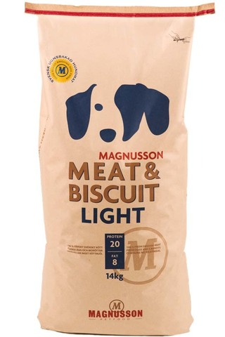 Корм для собак Magnusson Meat & Biscuit Light 14 кг