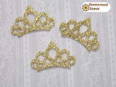 Заготовка корона маленькая золотая