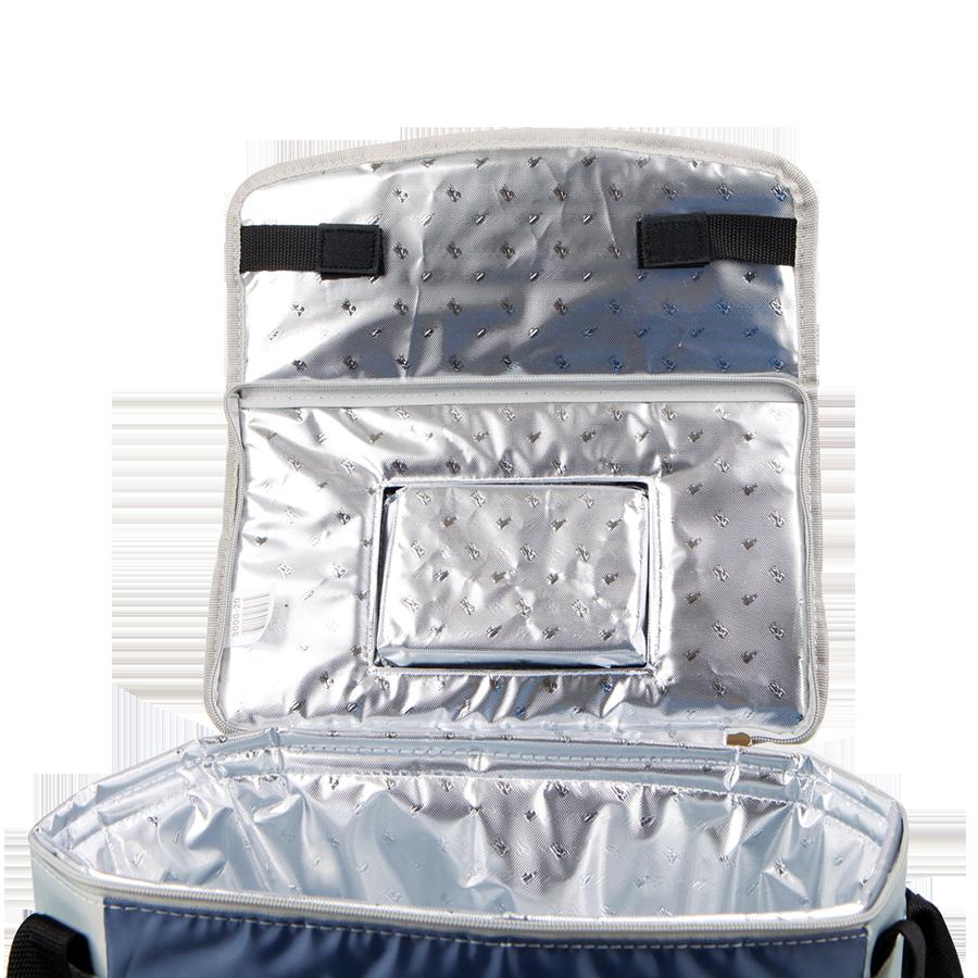 Термосумка с набором для пикника Арктика 4 перс. (13,5 л.), синяя