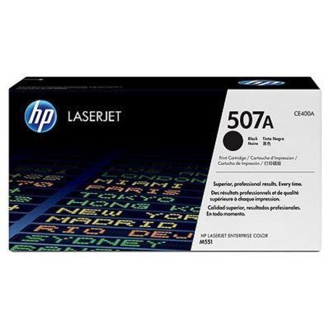 Картридж HP CE400A (507A) черный / black для HP LaserJet Enterprise 500 M551dn, 500 M551dn, M551xh (Ресурс 5500 страниц)