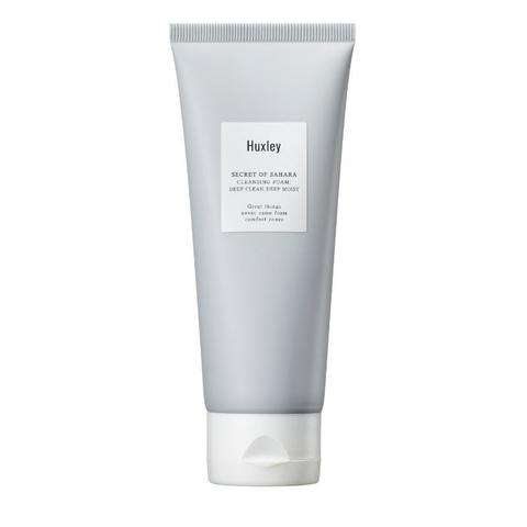 HUXLEY CLEANSING FOAM DEEP CLEAN DEEP MOIST Пенка для умывания 100мл