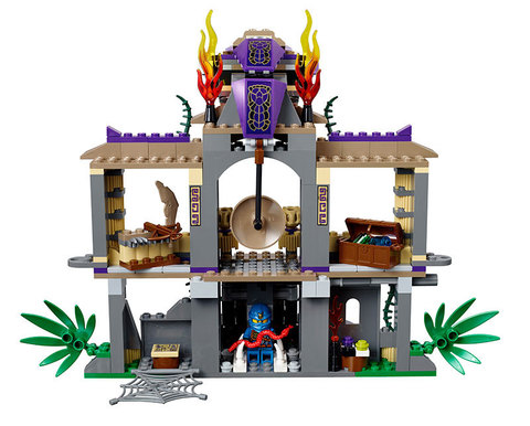 LEGO Ninjago: Храм Клана Анакондрай 70749 — Enter the Serpent — Лего Ниндзяго