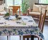 Скатерть 140x180 Blonder Home Iris синяя