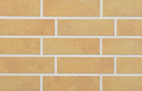 Stroeher, плитка-клинкер под кирпич, цвет 834 giallo, серия Keravette shine, glasiert, глазурованная, гладкая, 240x71x8