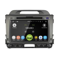 Штатная магнитола на Android 8.0 для Kia Sportage III Roximo CarDroid RD-2311