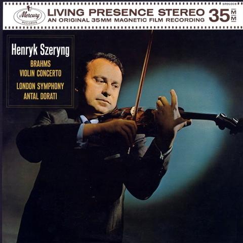 Henryk Szeryng, London Symphony Orchestra, Antal Dorati / Brahms: Violin Concerto (LP)
