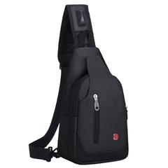 Однолямочный рюкзак SWISSWIN 1558 Черный
