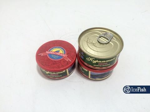 Икра Горбуша Гидрострой ж/б 125гр. (1/24) (Курильский берег)