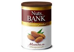 Миндаль обжаренный Nuts Bank, 200г