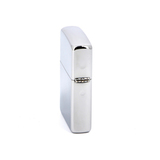 Зажигалка ZIPPO Pipe High Polish Chrome латунь/сталь серебро 36x12x56 мм (28676)