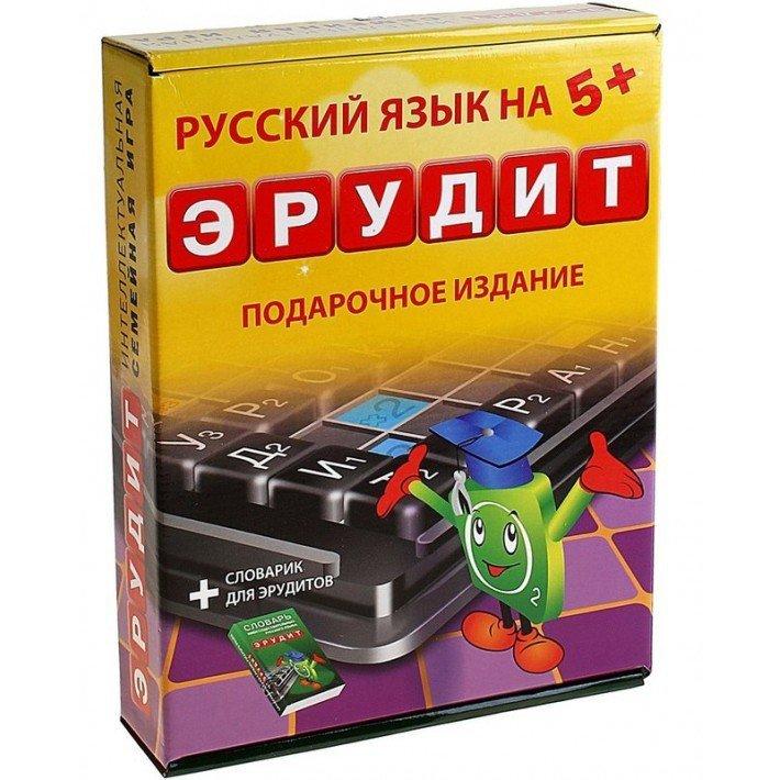 Настольная игра Эрудит подарочный + словарик