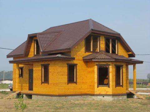 """Дом из бруса """"МД-Б-156"""" 156 кв.м."""