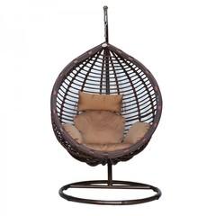 Подвесное кресло большое Kvimol КМ-0021 Brown