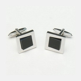 Запонки Lanvin Cuff-links Onyx LV 9810/3