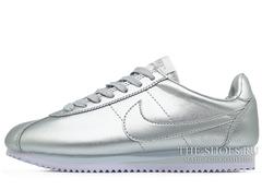 Кроссовки Женские Nike Cortez Silver
