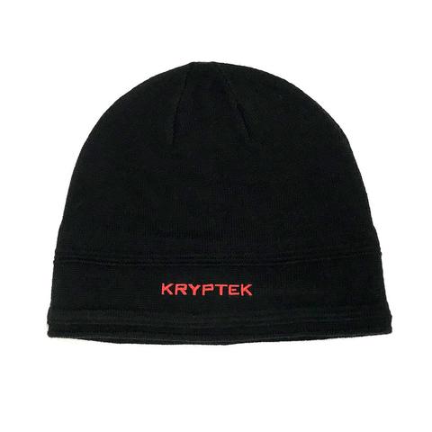 Шапка трикотажная KRYPTEK (черная/красная)