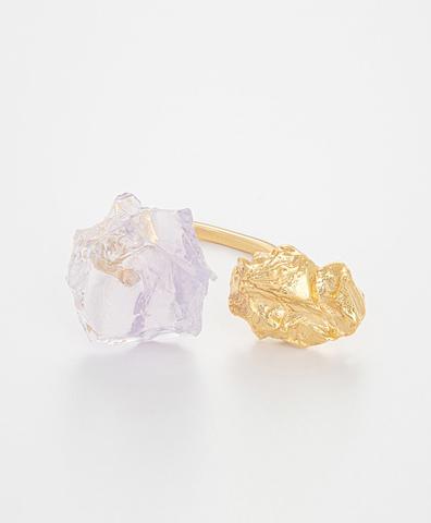 Кольцо The Wild Flower Lavender Quartz