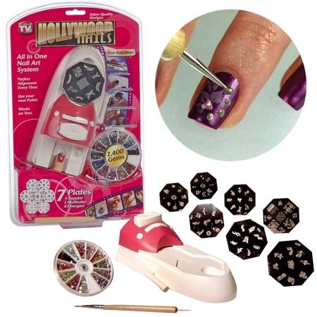 Принтер-штамп для ногтей Hollywood Nails (Голливудские ногти)