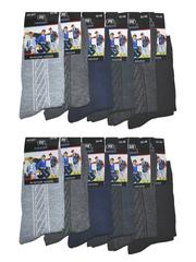 B31 носки мужские 42-48 (12шт), цветные