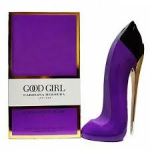 Carolina Herrera Good Girl Purple wom 100 ml (бархатная туфля)