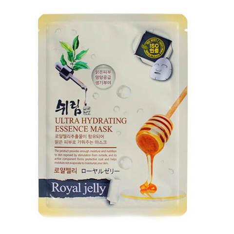 FoodaHolic Shelim Увлажняющая тканевая маска с натуральным экстрактом пчел. молочка 25мл