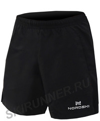 Шорты Nordski Light Black мужские