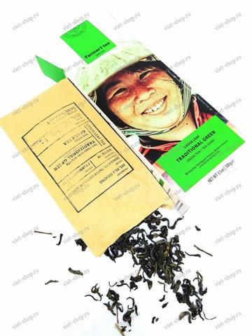 Вьетнамский зеленый фермерский чай, Sense of Asia, 100 гр.